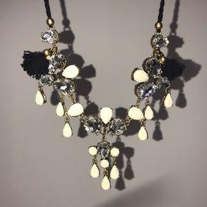 J Crew Multi Stone Necklace